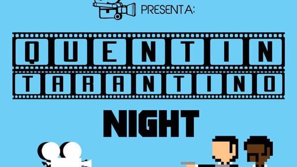 'Motion Picture Dj Set - Quentin Tarantino Night' al Bonù