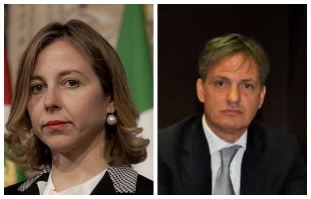 Risultati immagini per foto del ministro Giulia Grillo e del dr Massimo buscema di catania