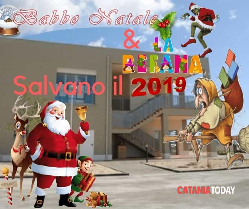 Babbo Natale E Befana.Babbo Natale La Befana Salvano Il 2019