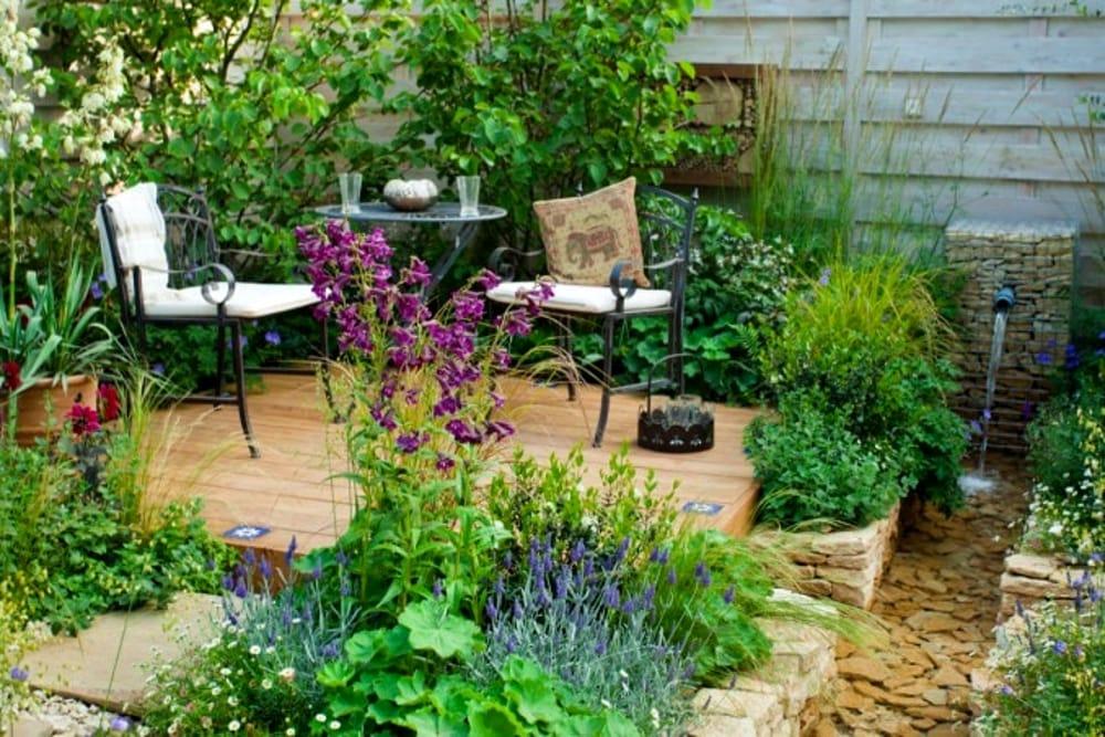 Consigli su come arredare un giardino o un terrazzo piccolo