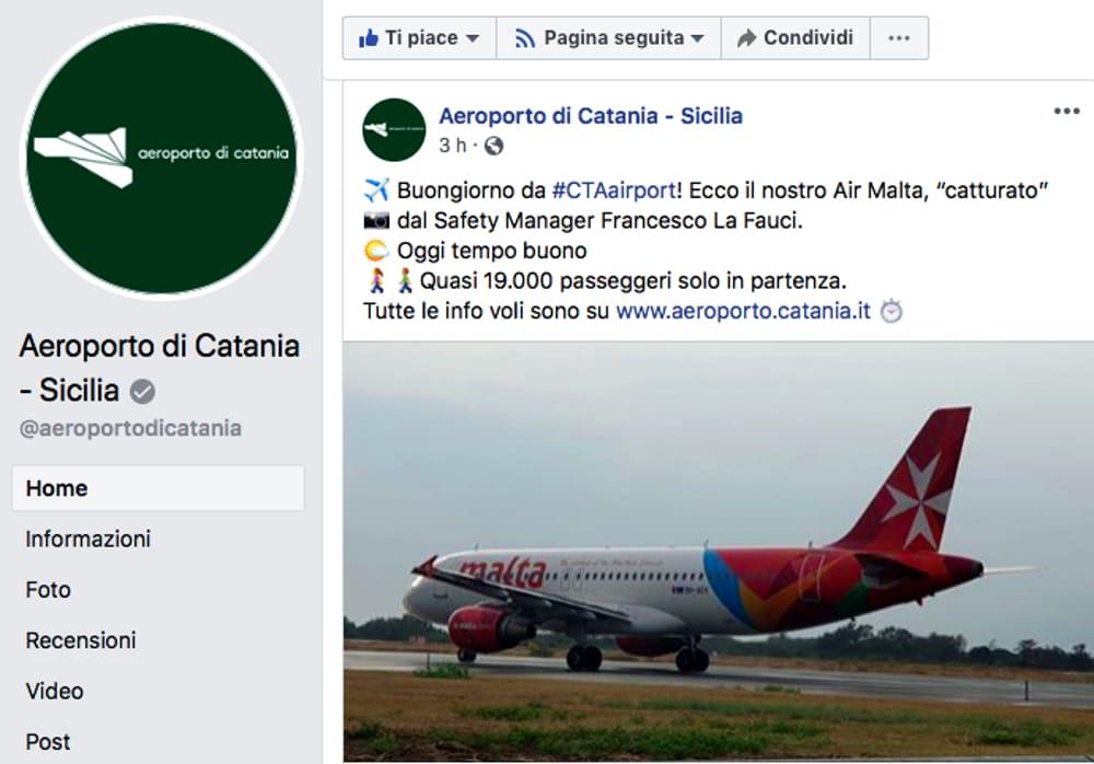 Aeroporti, Fontanarossa